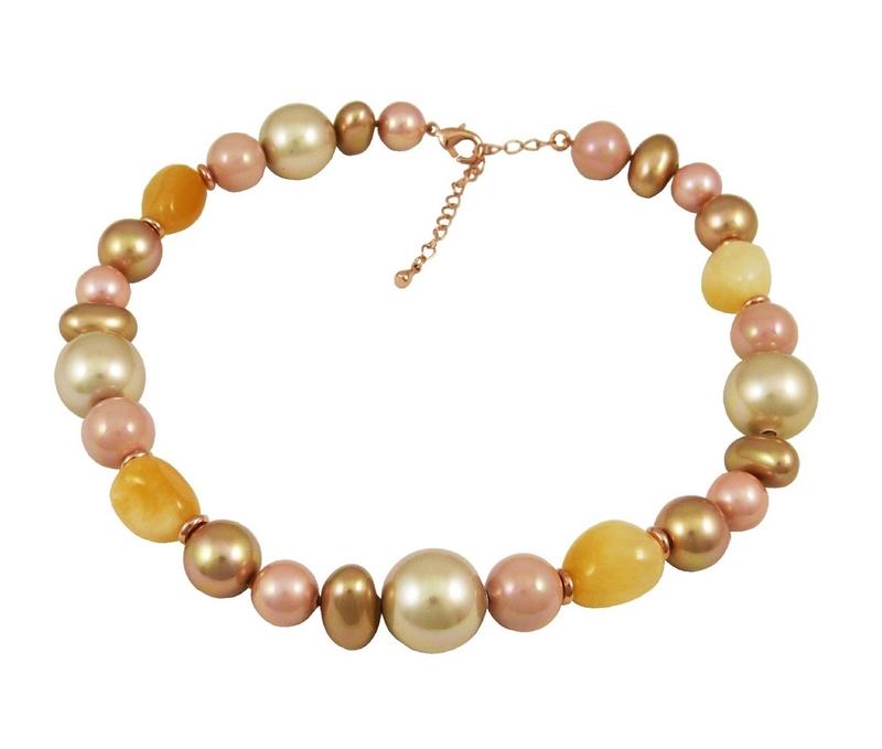 Collar Mujer DEVOTA Y LOMBACDL195131-PINK/GOLD 8435334800521 Devota & Lomba
