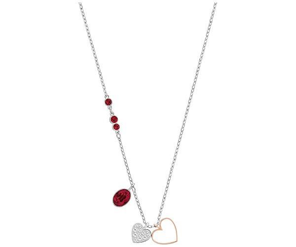 Collar Swarovski con Corazones y piedras rojas 5139473