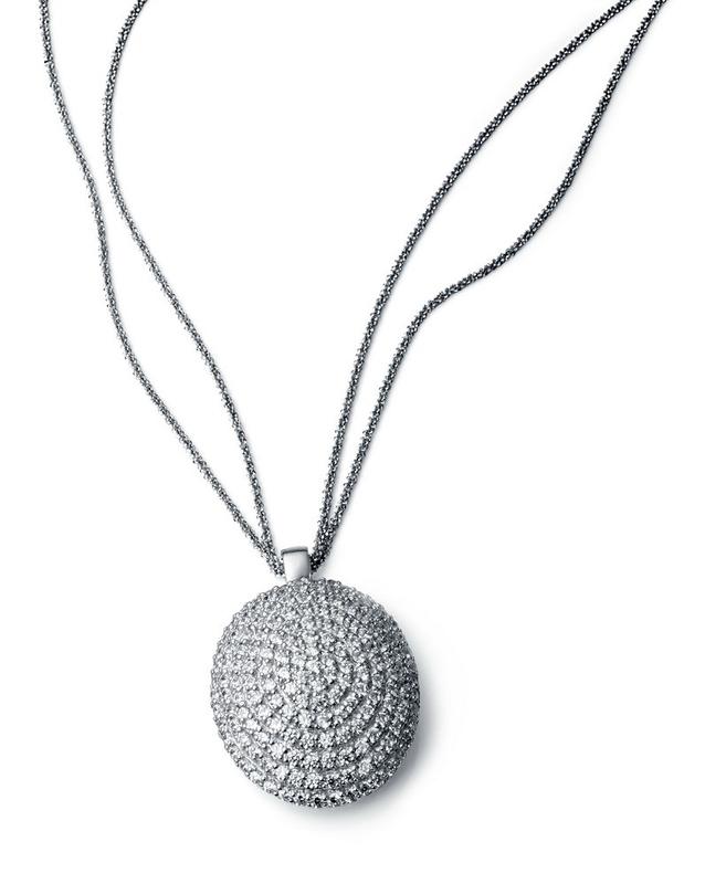 Collar Viceroy plata y circonitas 1038C0030