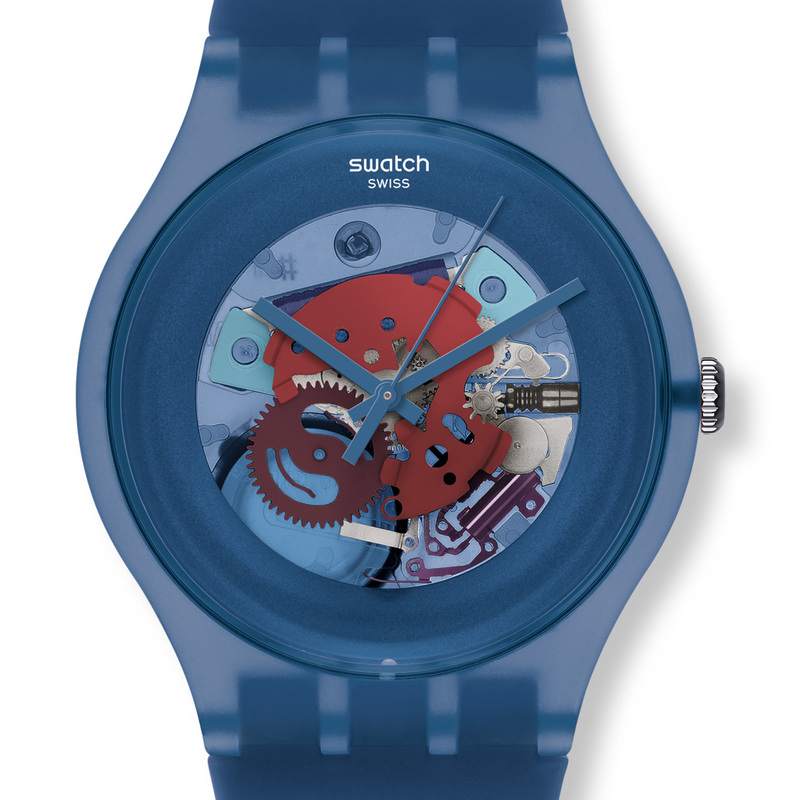 b66b734e31bd Reloj Swatch Originales SUON102 Blue Grey