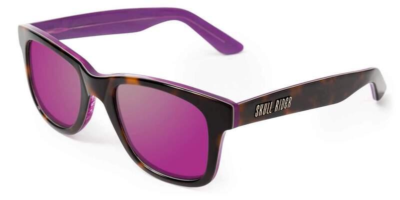 Gafas de sol Gafas Skull Rider Acetate Sunglass Purple 10010000108