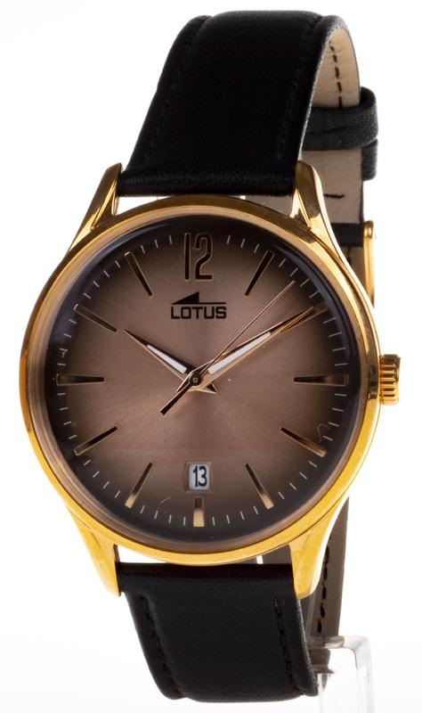 Reloj analgico Lotus acero vintage calendario 18404-2