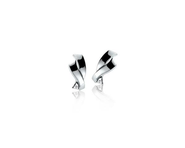 Pendientes Plata y Diamante Zinzi ZDO24