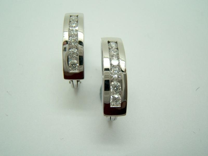 Pendientes criollas con Diamantes B-79