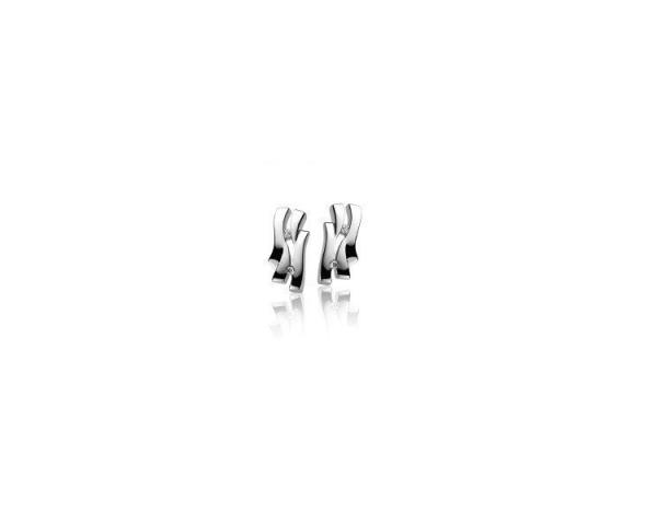 Pendientes Plata y Diamante Zinzi ZDO25