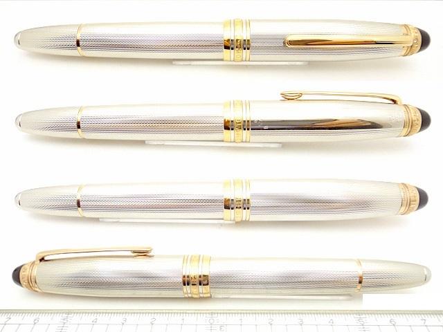 Escritura Pluma plata de ley y Oro Montblanc  Limited Edition Sterling Silver 1466