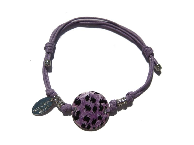 Pulsera Lotus Silver violeta lp1105-2/2