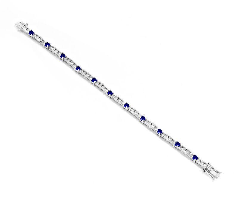 PULSERA PLATA - Propia - 1120-18cmt