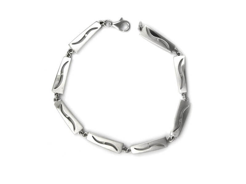 Pulsera Plata DL006 Hot Diamonds