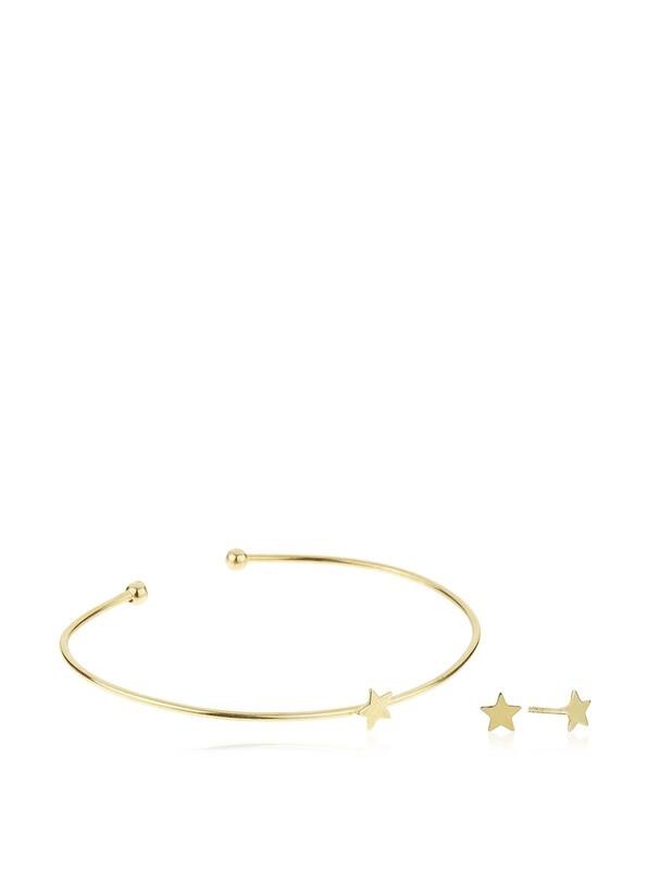 Pulsera set stars gold 8435445337800 Lua Blanca