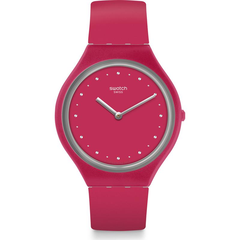 Reloj  skin  fucsia svor101 Swatch