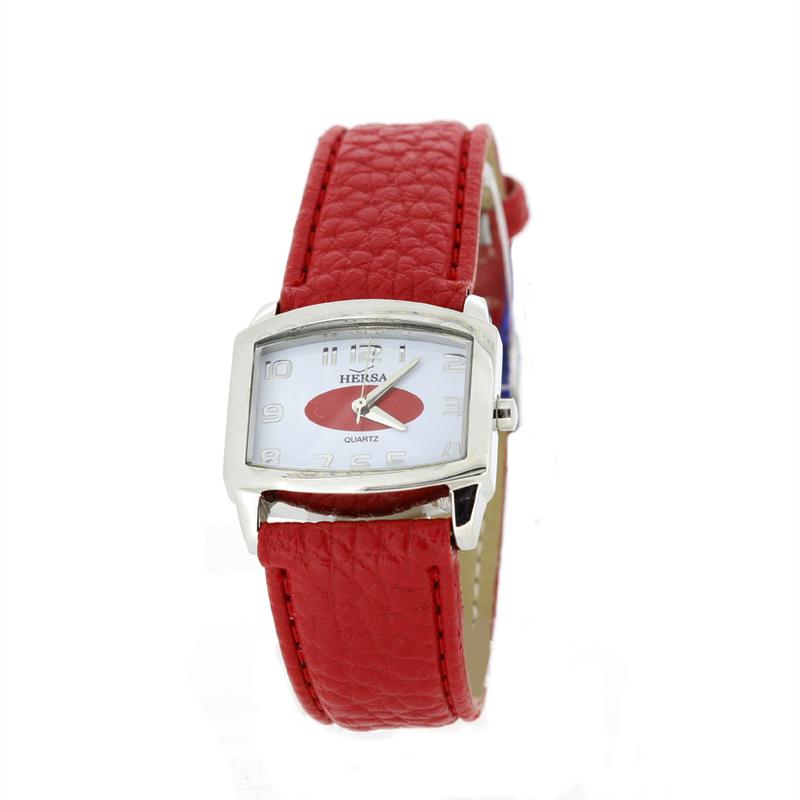 Reloj Hersa correa roja  H40370R