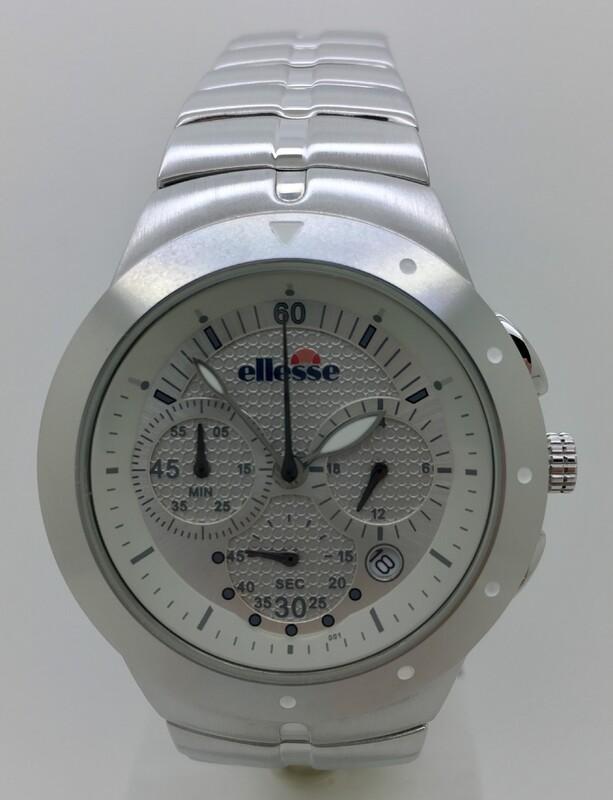 Reloj acero crono  030339001 Ellesse