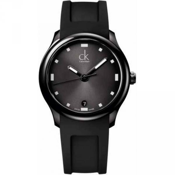 reloj acero negro k2v214d1 Calvin Klein