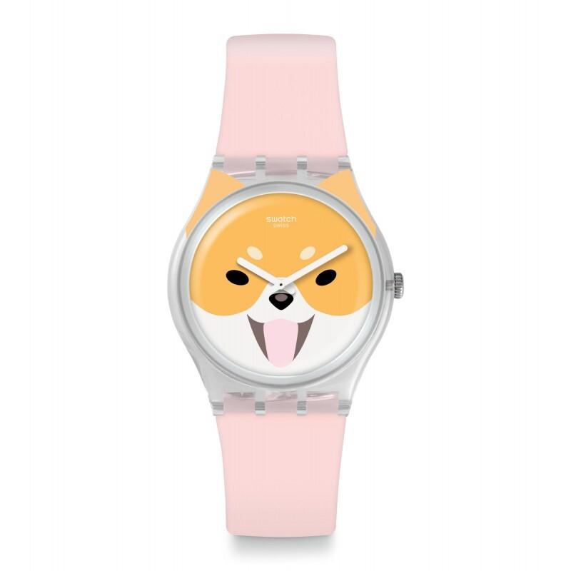Reloj akita inu ge279 Swatch