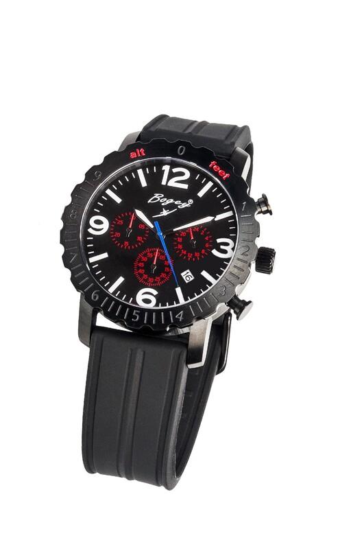 0855378224d7 Reloj BOGEY SILENCE FLIGHT SERIES BSFS008RDBK 8435334898627