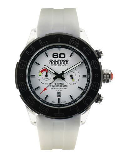 Reloj Bultaco Heritage Blanc CH EW 47 P48CX-04