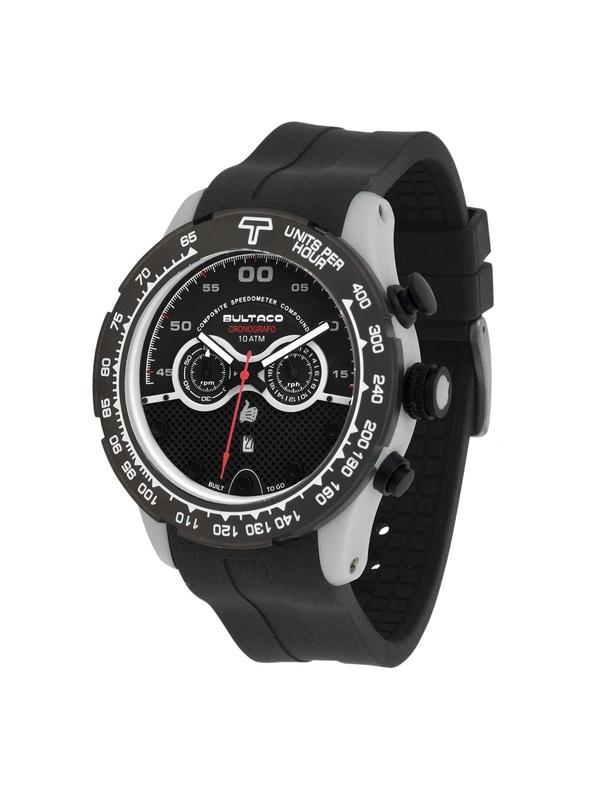 Reloj Bultaco MK1 Composite 48 Chrono Grey Black H1PA48C-SB2