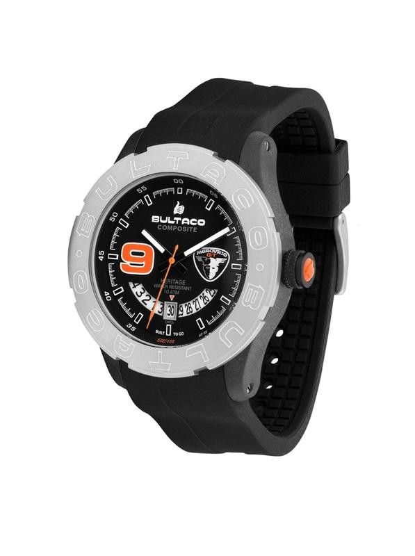 Reloj Bultaco MK1 Composite 48 SoloT Mercurio H1PB48S-CB3
