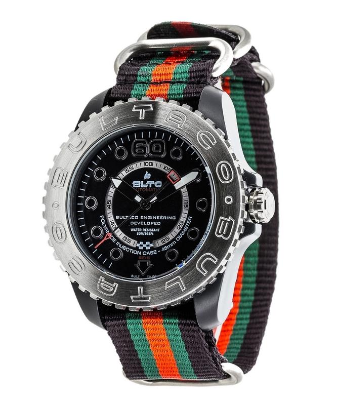 Reloj Bultaco Speedometer 45 SoloT Black mat -T1 BLPB45A-CB2-T1