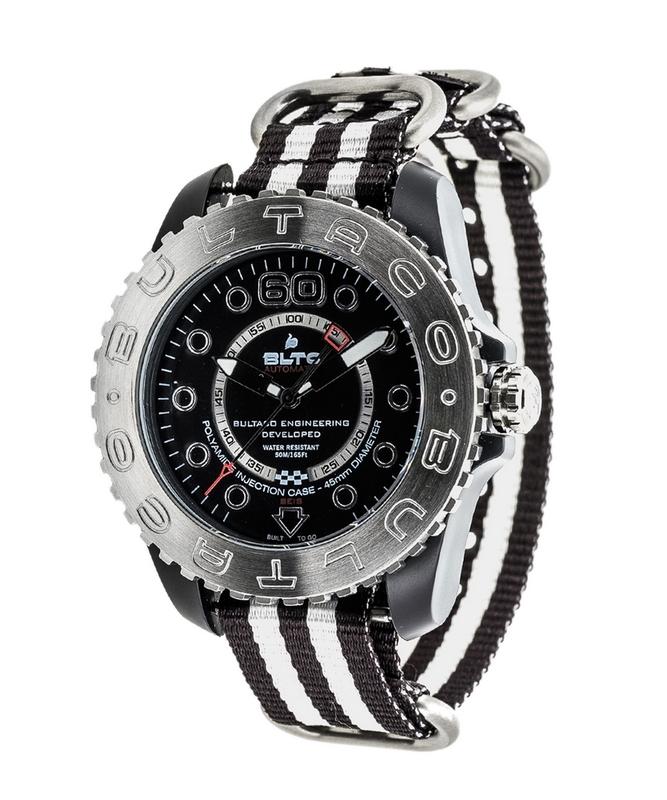 Reloj Bultaco Speedometer 45 SoloT Black mat -T2 BLPB45A-CB2-T2