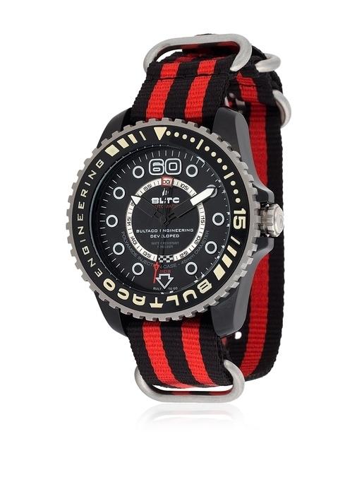 Reloj Bultaco Speedometer 45 SoloT Black mat -T5 BLPB45A-CB1-T5