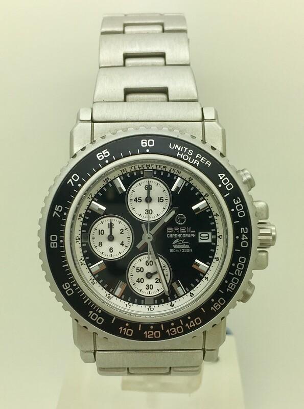 Reloj caballero crono aluminio breil 250977065