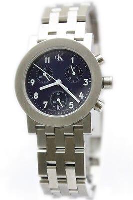 Reloj Calvin Klein mujer azul cronógrafo K8191