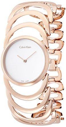Reloj Calvin Klein mujer dorado rosé K4G23626
