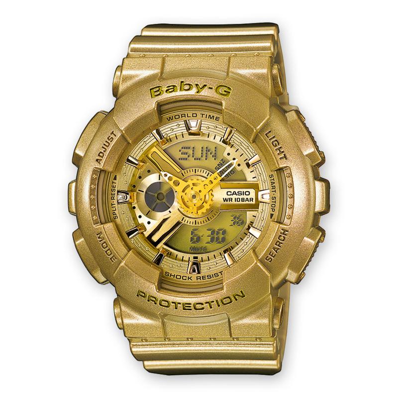 15959f08e65b Reloj Casio Baby-G dorado. Cargando zoom