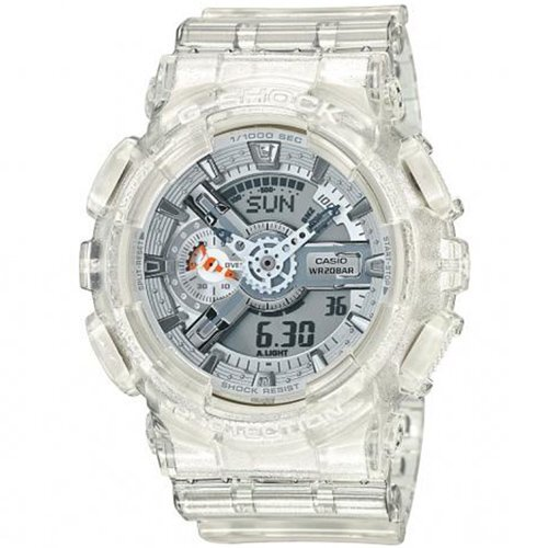 494c39b49149 Reloj Casio G-SHOCK resist digital blanco transparente ga110cr-7aer. Cargando  zoom