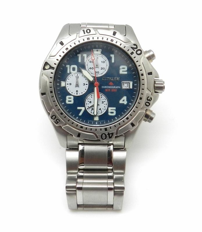 Reloj Citizen caballero 781020