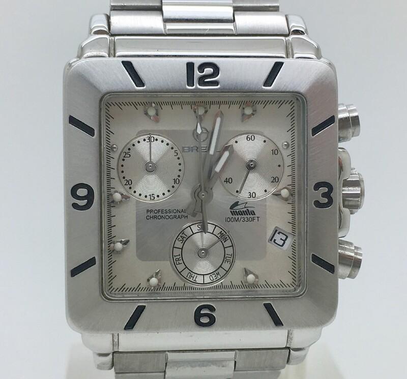 Reloj crono acero breil 2519750043