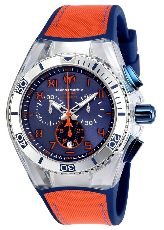 Reloj CRUISE CALIFORNIA NARANJA Technomarine TM-115012