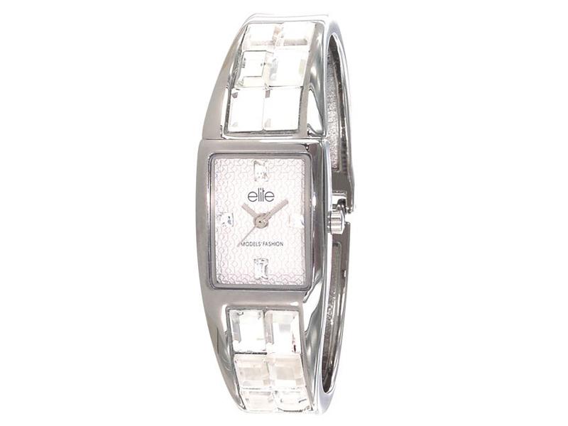 Reloj elite de acero y cristales E53104-201