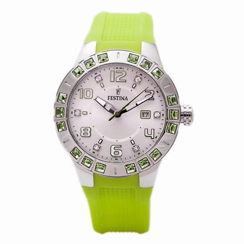 98f748fbb39e Reloj Festina mujer acero caucho F16560 4
