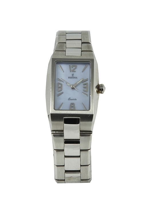 Reloj Festina mujer acero rectangulares  F16107/3