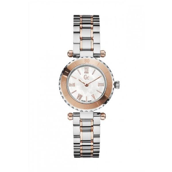Reloj Gc acero y rosado X70027L1S