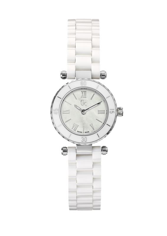 Reloj Gc mujer cerámica blanca  X70007L1S