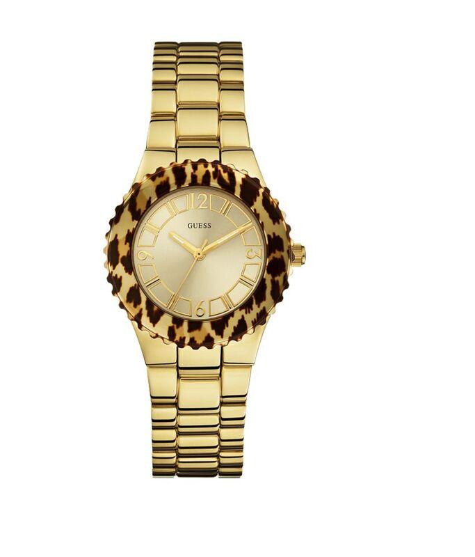 46a14e563ef5 Reloj Guess mujer dorado W0404L1