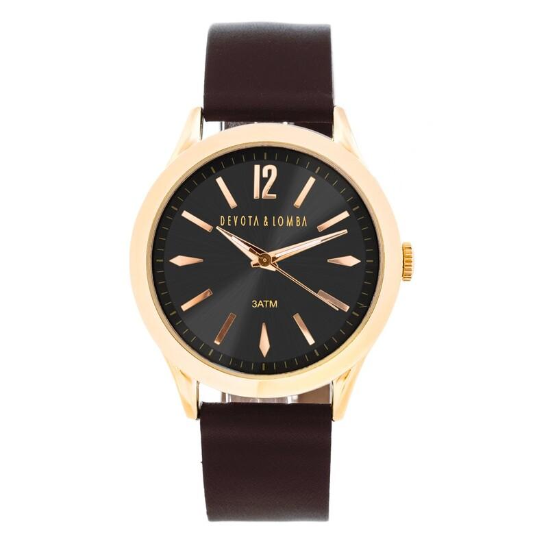 Reloj Hombre Devota y Lomba DL016ML-02BRBK 8435334804260 Devota & Lomba