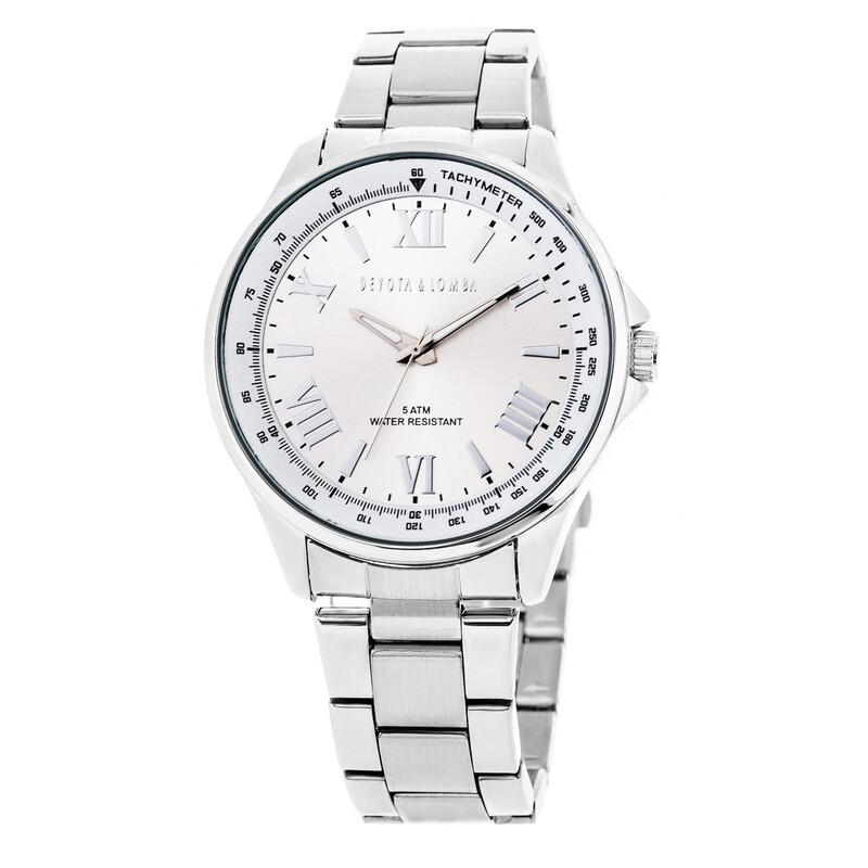 Reloj hombre plateado 8435432511718 DEVOTA Y LOMBA Devota & Lomba