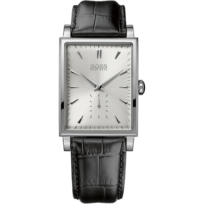 dee48be81ea1 Reloj Hugo Boss rectangular caballero 1512783