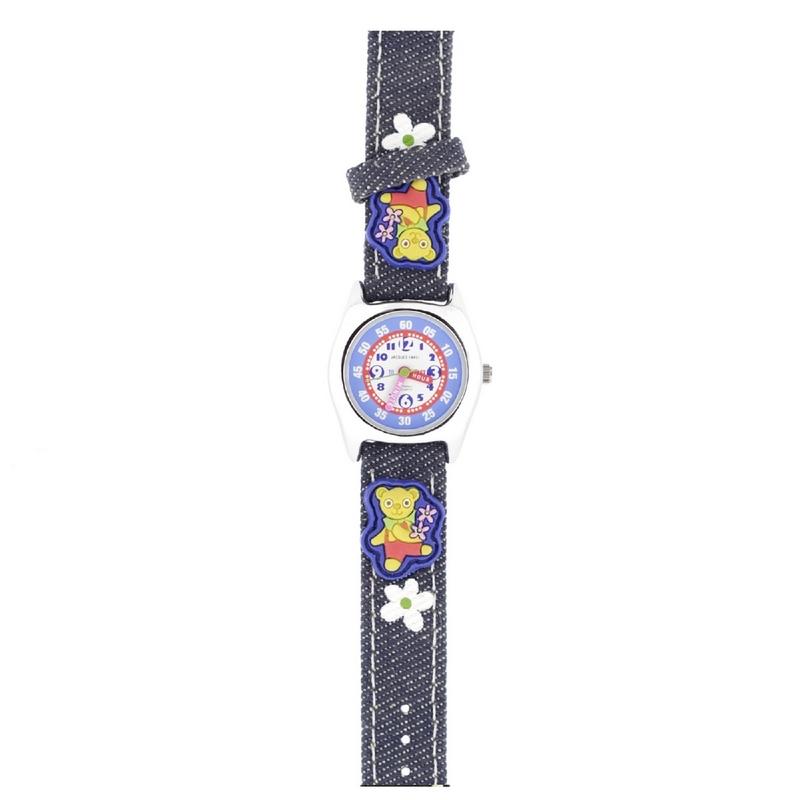 Reloj infantil Jacques Farel Osito Flores JF1230