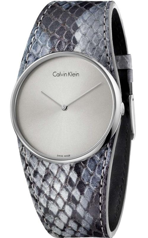 Reloj K5V231Q4 mujer piel serpiente Calvin Klein