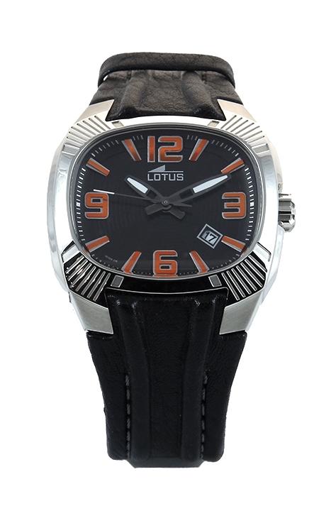 b146bb5df7b6 Reloj Lotus hombre casual correa cuero 15759 5. Cargando zoom