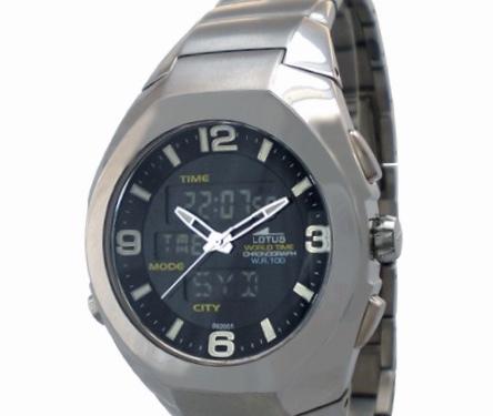 0a29543cf6cc Reloj Lotus acero analogico-digital 9920 1. Cargando zoom