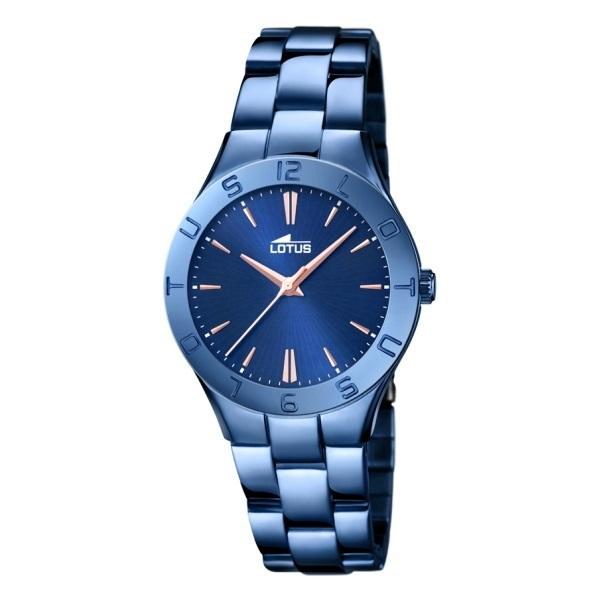 reloj lotus acero azul  18249/2