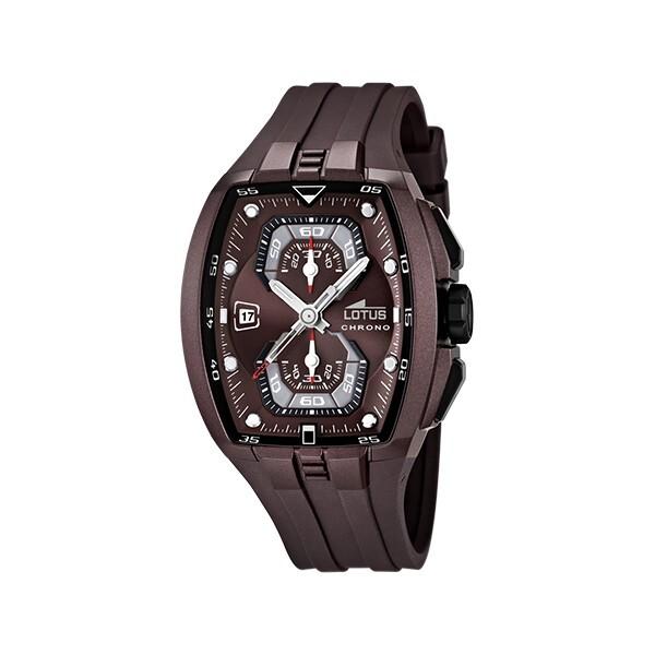 Reloj LOTUS CAB CRONO ACE.COR.ESF.BURDE 15854/5