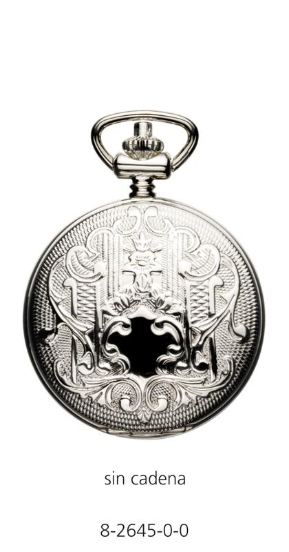 Reloj Nowley plata analógico de bolsillo 8-2645-0-0